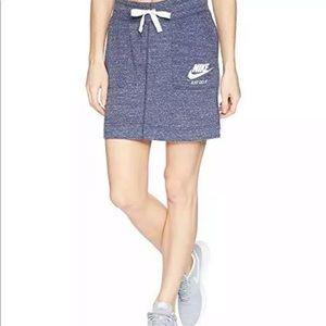 Nike Purple VTG Drawstring Skirt Large Sportswear